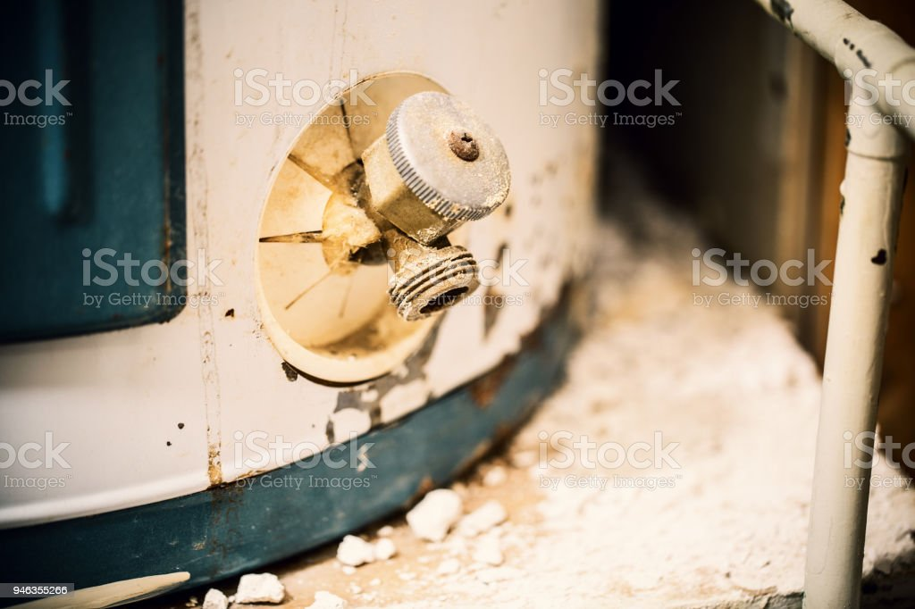Water Heater stock photo