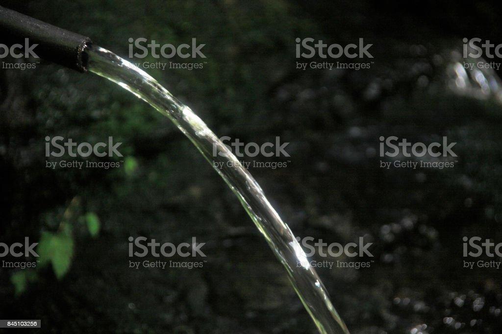 Water hose stock photo