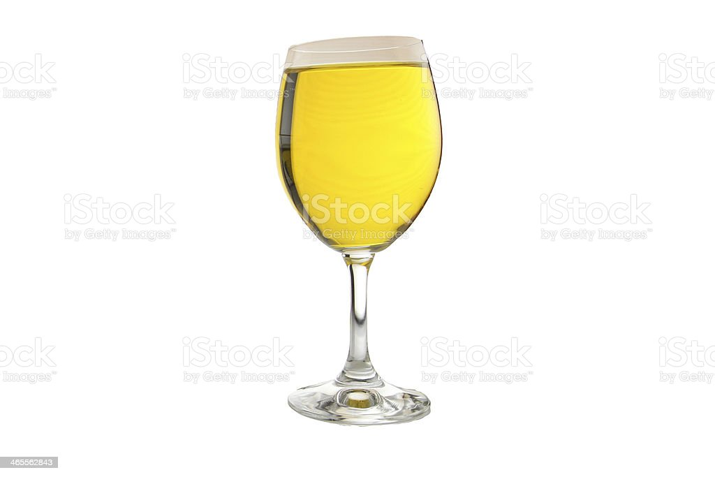Water in a glass. royalty-free stock photo