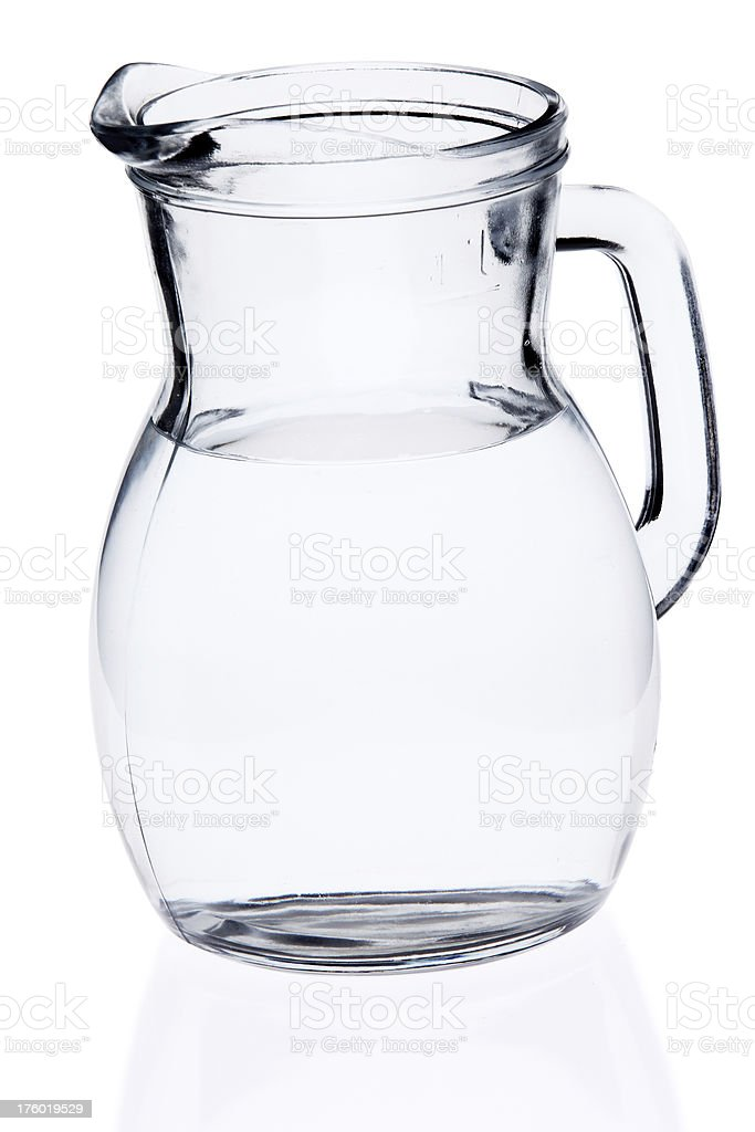 Water in a jug royalty-free stock photo