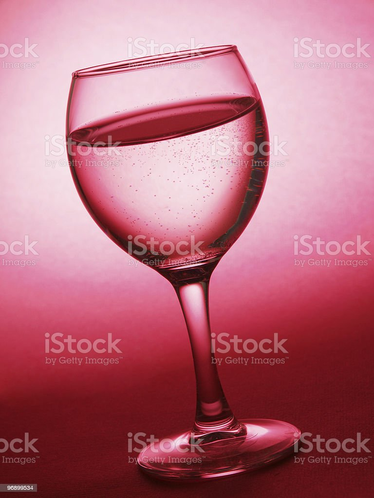 Water in glass royalty-free stock photo
