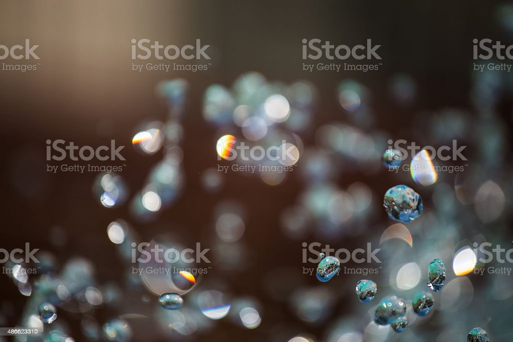 Water in Slow Motion stock photo