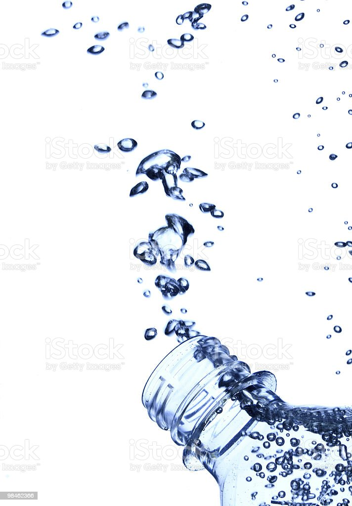 water in the bottle royalty-free stock photo