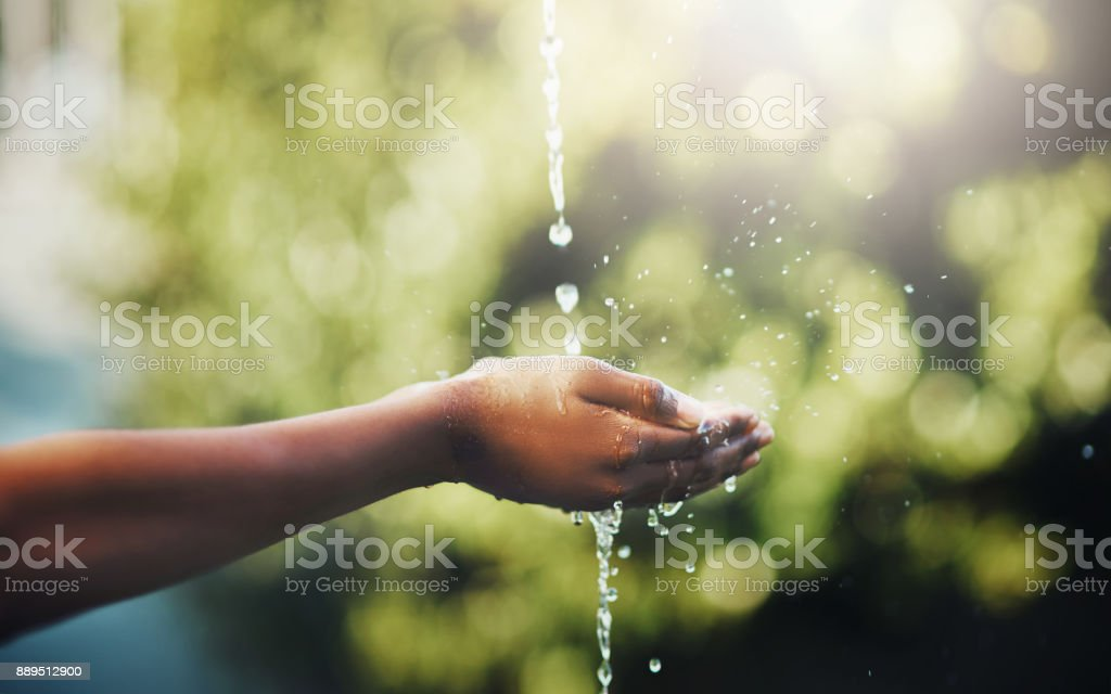 Water is key to life stock photo