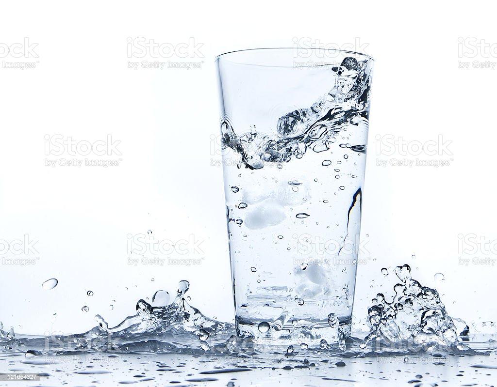 water splash in Glas – Foto