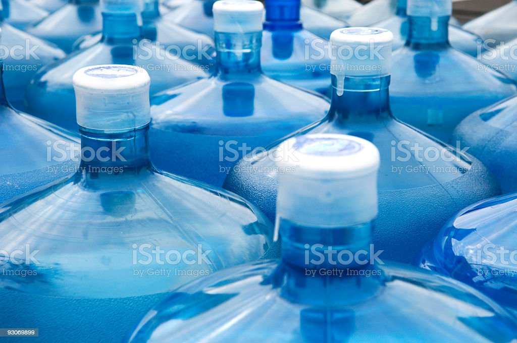 Water Jugs stock photo