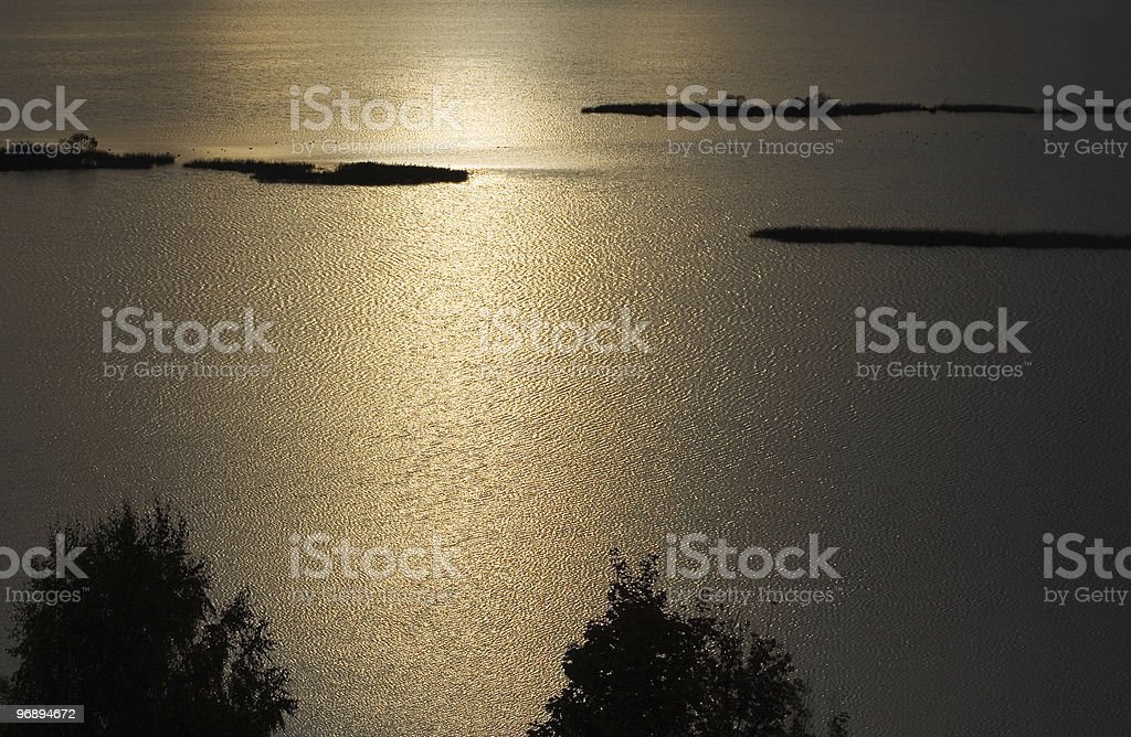 Water landscape royalty-free stock photo