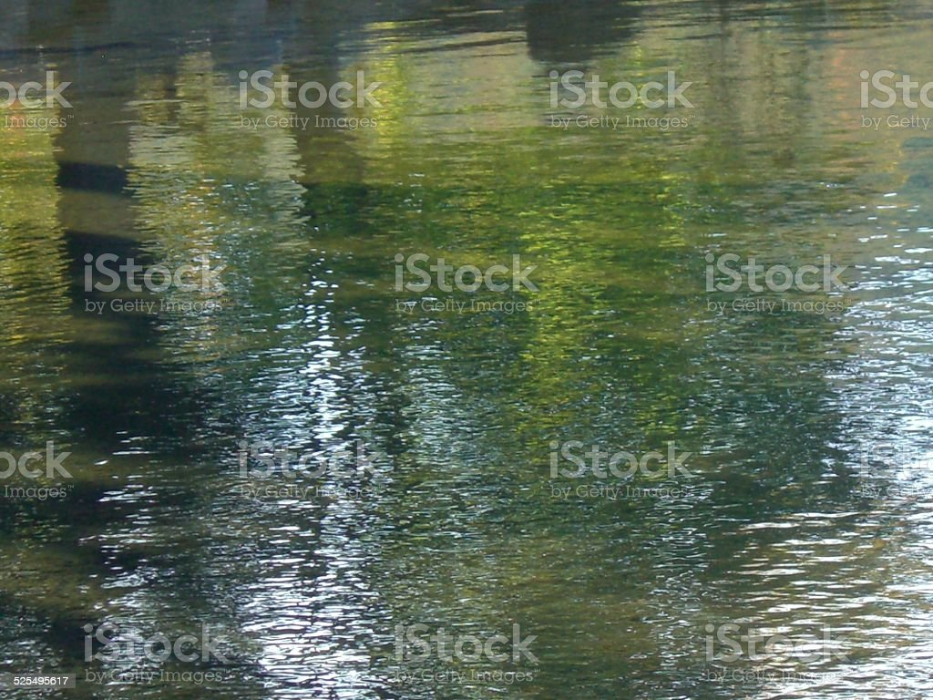 Water, Light and Color stock photo