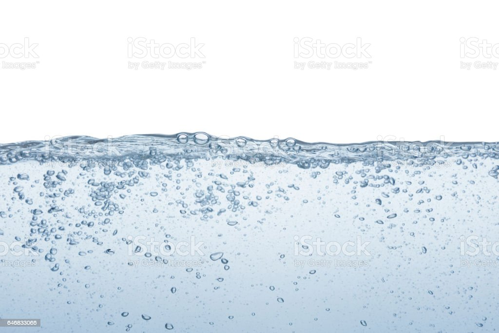 Agua línea - foto de stock