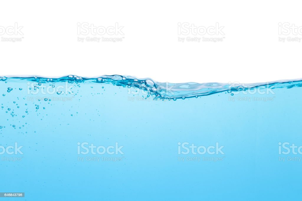 Water line stock photo