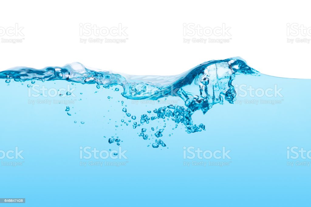 Water line stock photo
