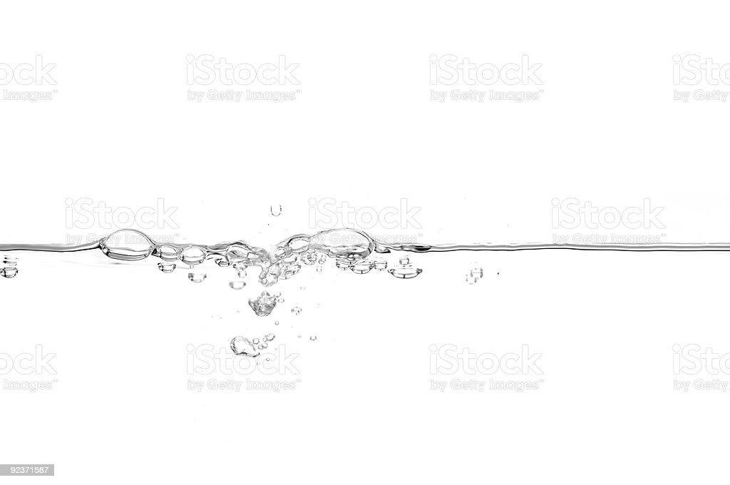 Water line royalty-free stock photo