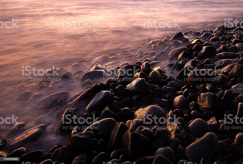 Water Meets Earth royalty-free stock photo