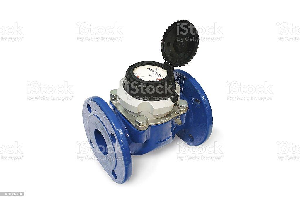 Water meter. stock photo