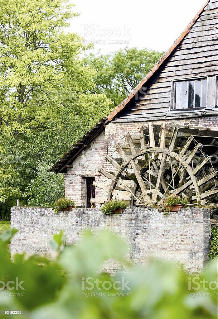 Water Mill royalty-free stock photo