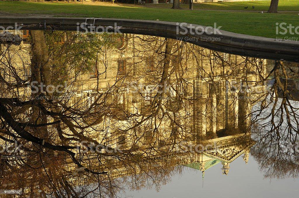Water mirror royalty-free stock photo