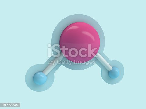 924641300 istock photo Water molecule. Ecology, biology and biochemistry concept. 3D 917222032