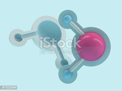 924641300 istock photo Water molecule. Ecology, biology and biochemistry concept. 3D 917222044