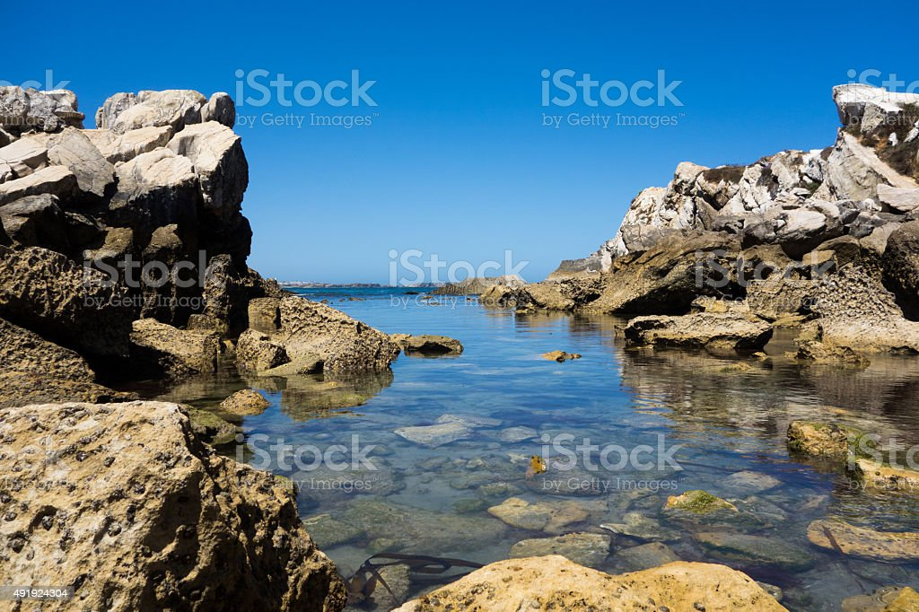 Water of Baleal stock photo