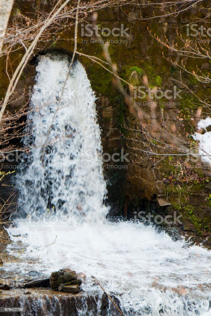 Water of the mountains 免版稅 stock photo