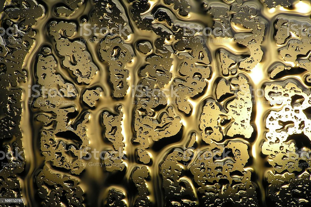 water on glass royalty-free stock photo