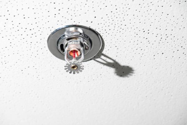Wasserauslauf einer Sprinkleranlage – Foto