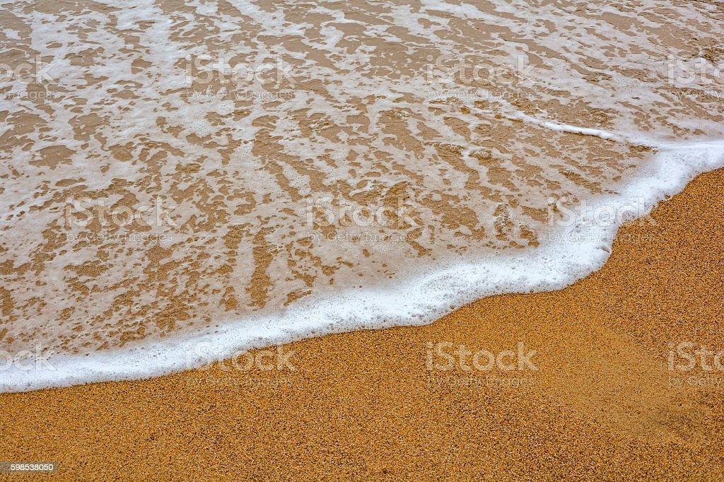 Eau sur le sable photo libre de droits