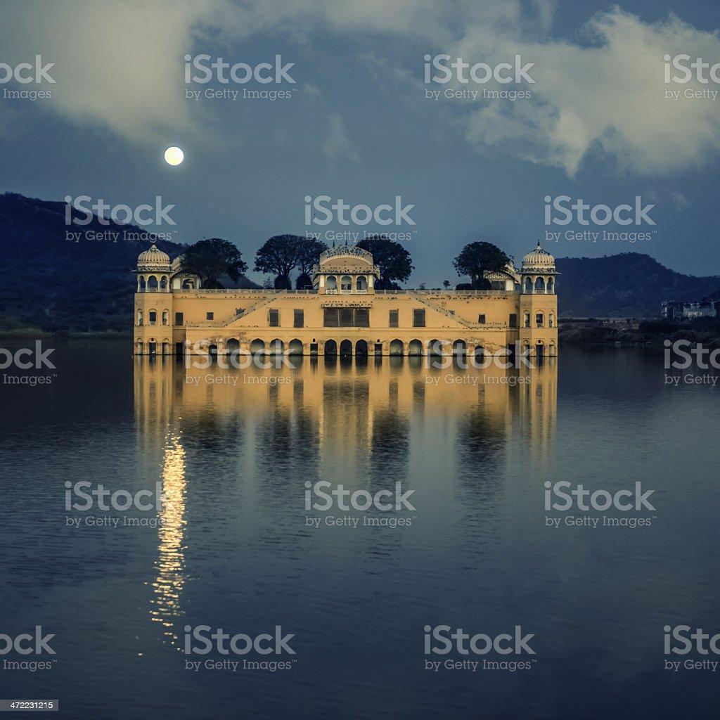 Water Palace (Jal Mahal) near Jaipur, Rajasthan - IV stock photo