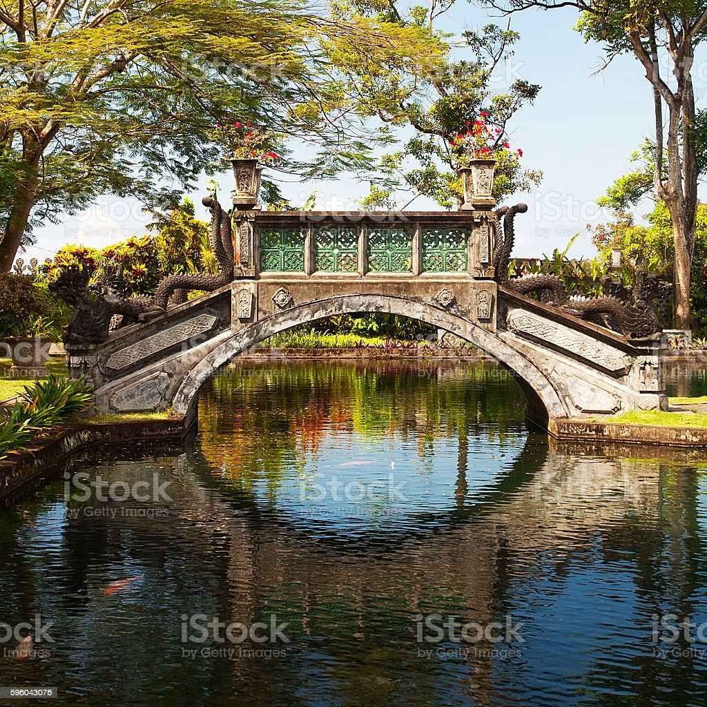 Water Palace of Tirtagangga stock photo