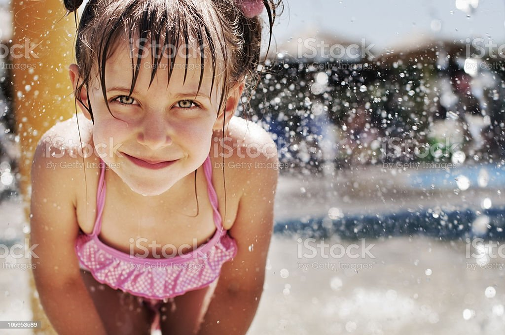 Water Park fun stock photo