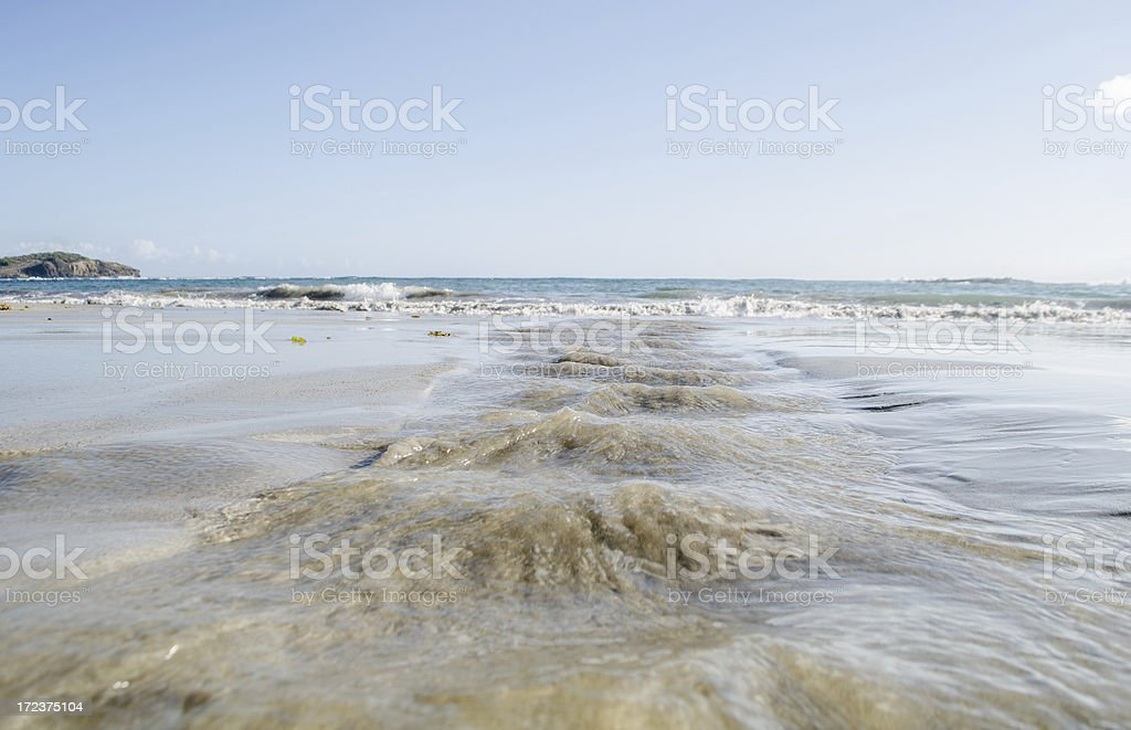 water path to the sea royalty-free stock photo