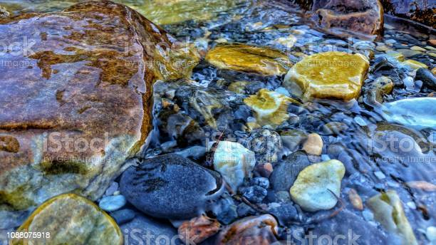 Photo of Water pebbles.