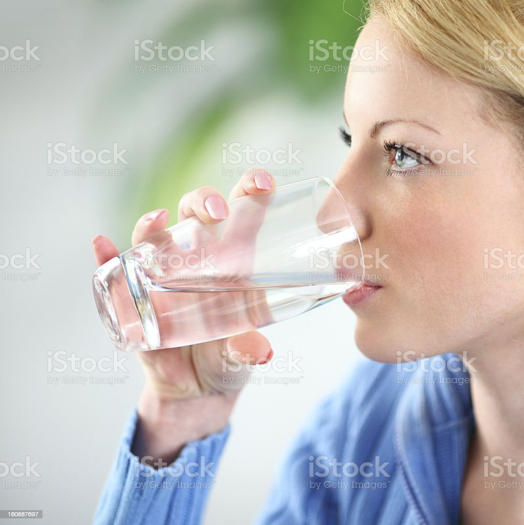 Water. - Royalty-free 20-24 Years Stock Photo