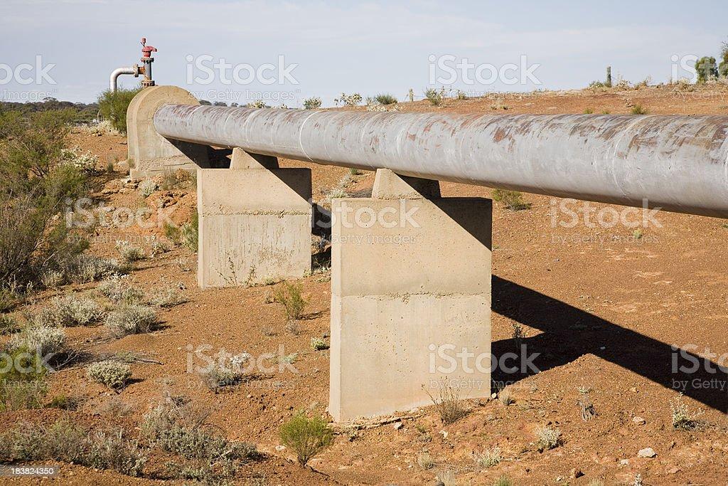 Water Pipeline stock photo