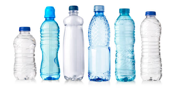 water plastic bottle isolated - plastic stock pictures, royalty-free photos & images