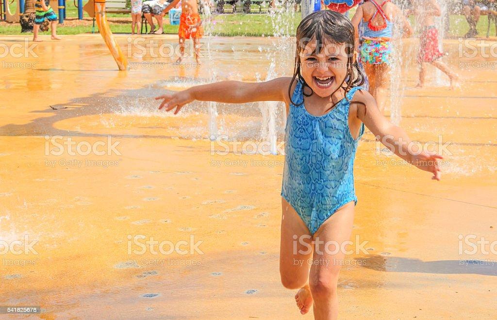 Water Play stock photo