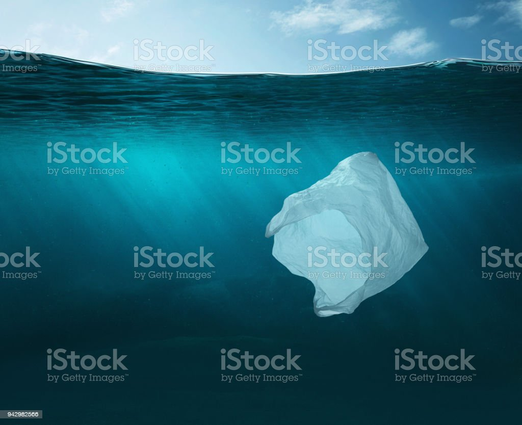 Water pollution concept stock photo