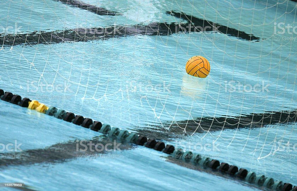 10ca059cc Foto de Bola De Polo De Água Flutuando Na Piscina e mais fotos de ...