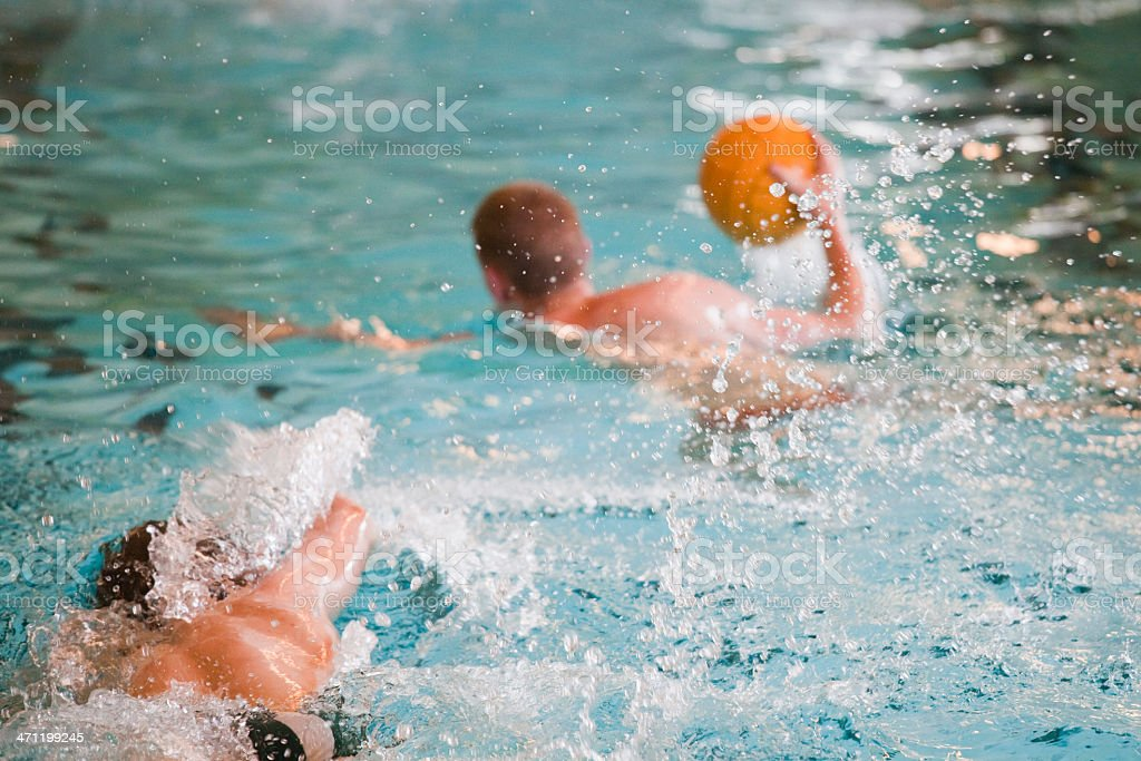 Water Polo (XL) royalty-free stock photo