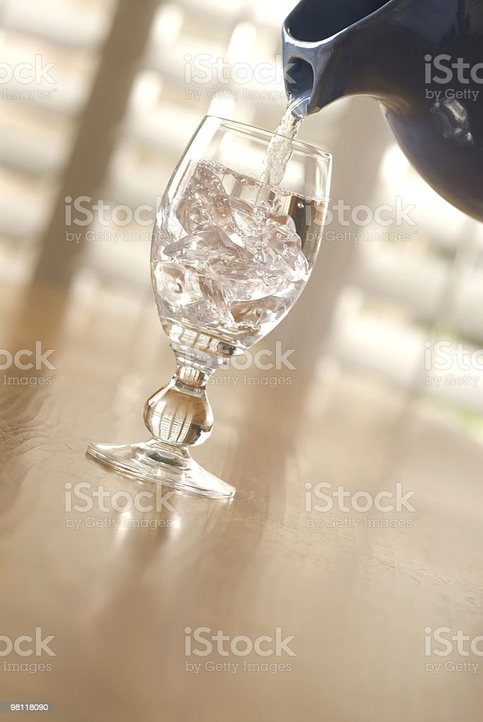 Water Pour royalty-free stock photo