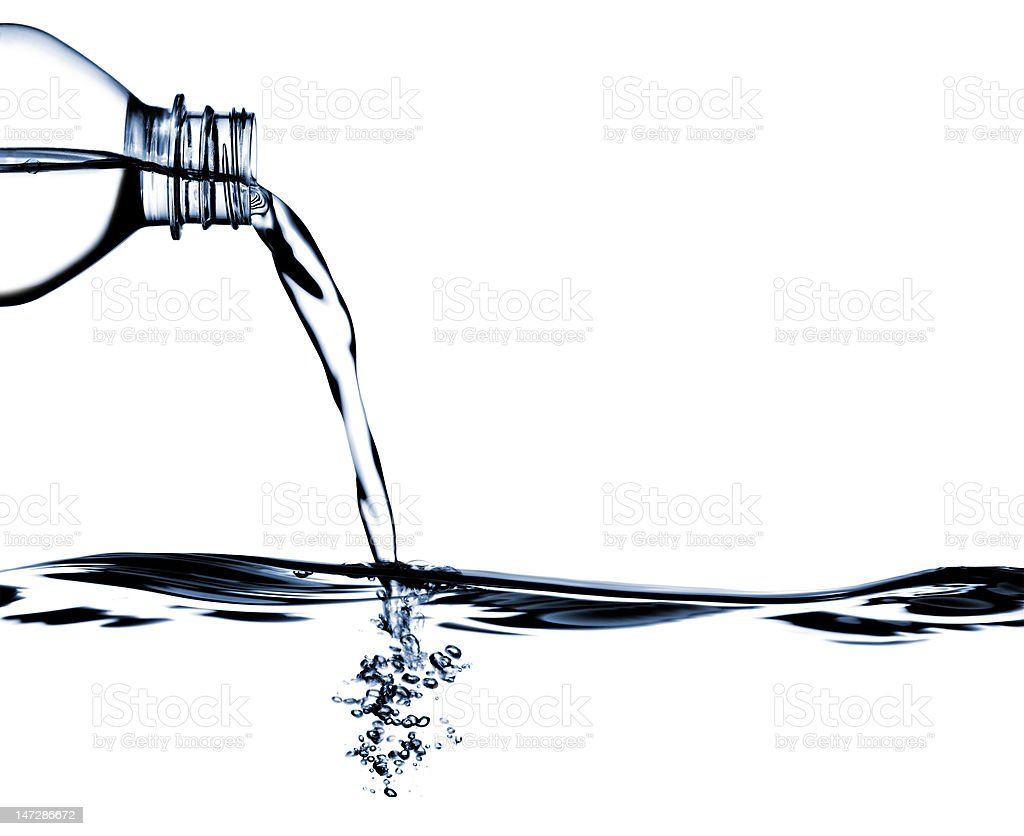 Water Pouring royalty-free stock photo