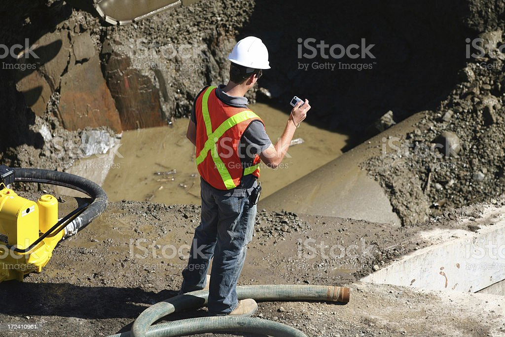 Water Problem royalty-free stock photo