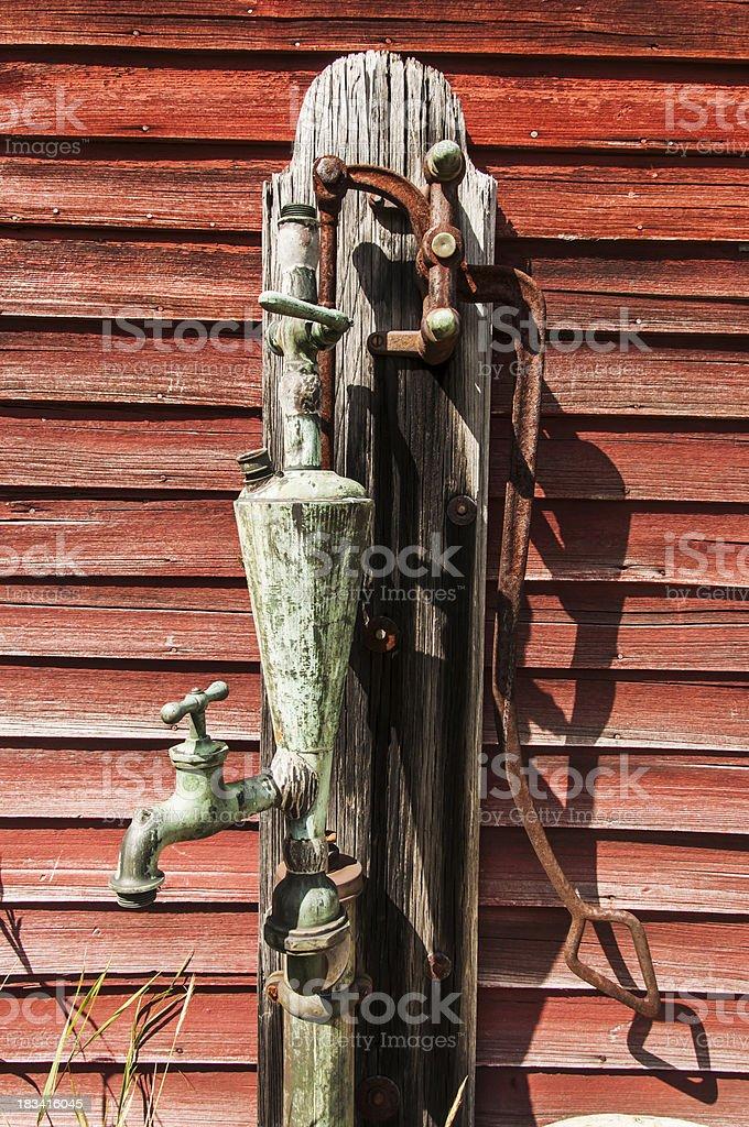 water pump royalty-free stock photo