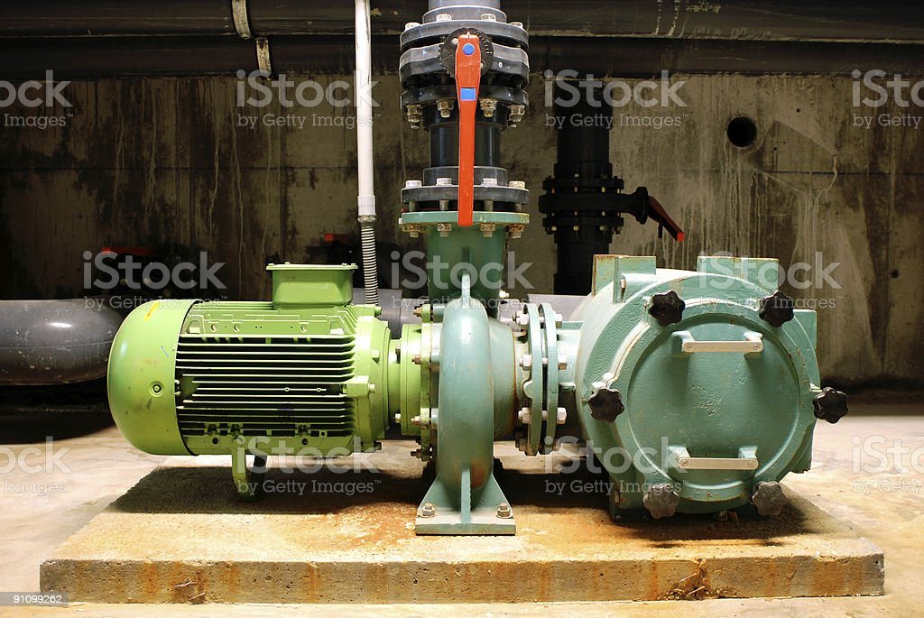 Water Pump royalty-free stock photo