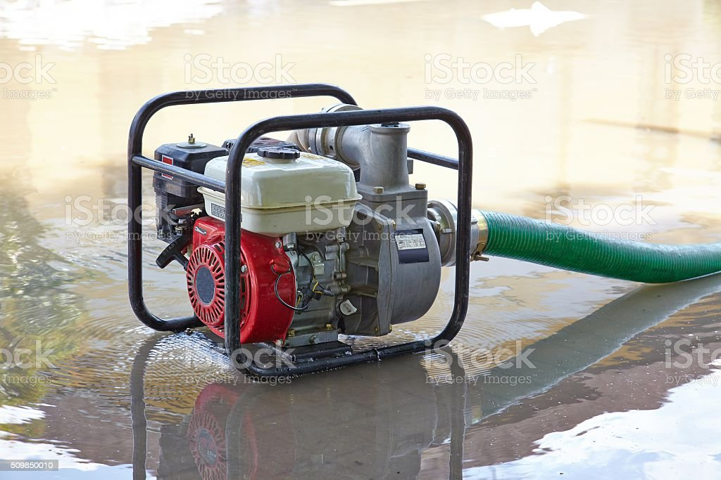 Water Pumping stock photo