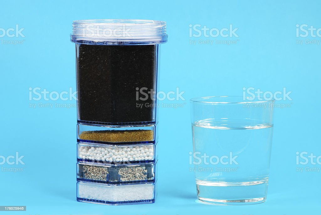 Water Purification Filter stock photo