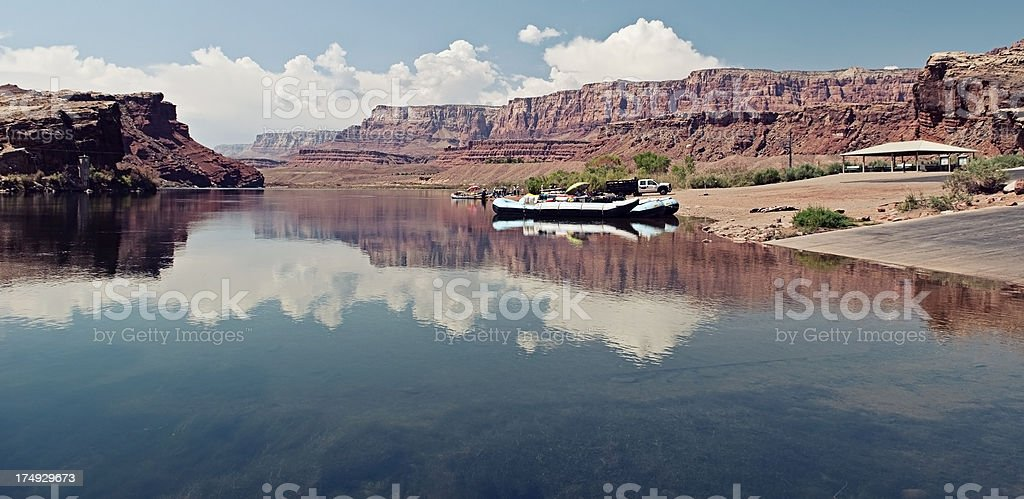Water Rafting Colorado River royalty-free stock photo