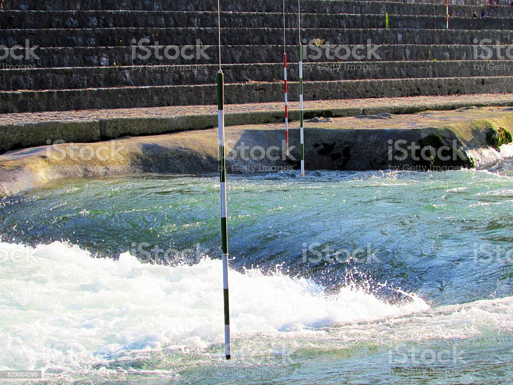 Water rapids stock photo