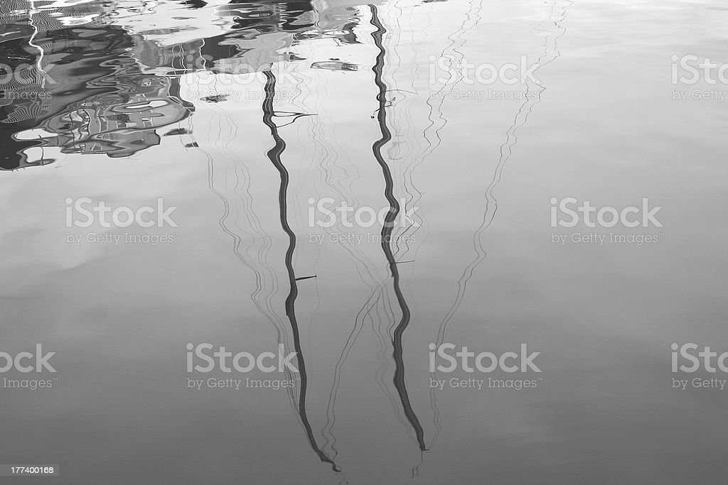 Water reflection stock photo