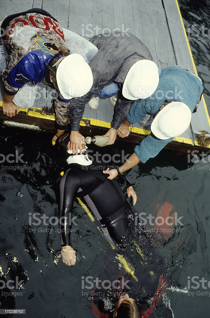 Water Rescue royalty-free stock photo